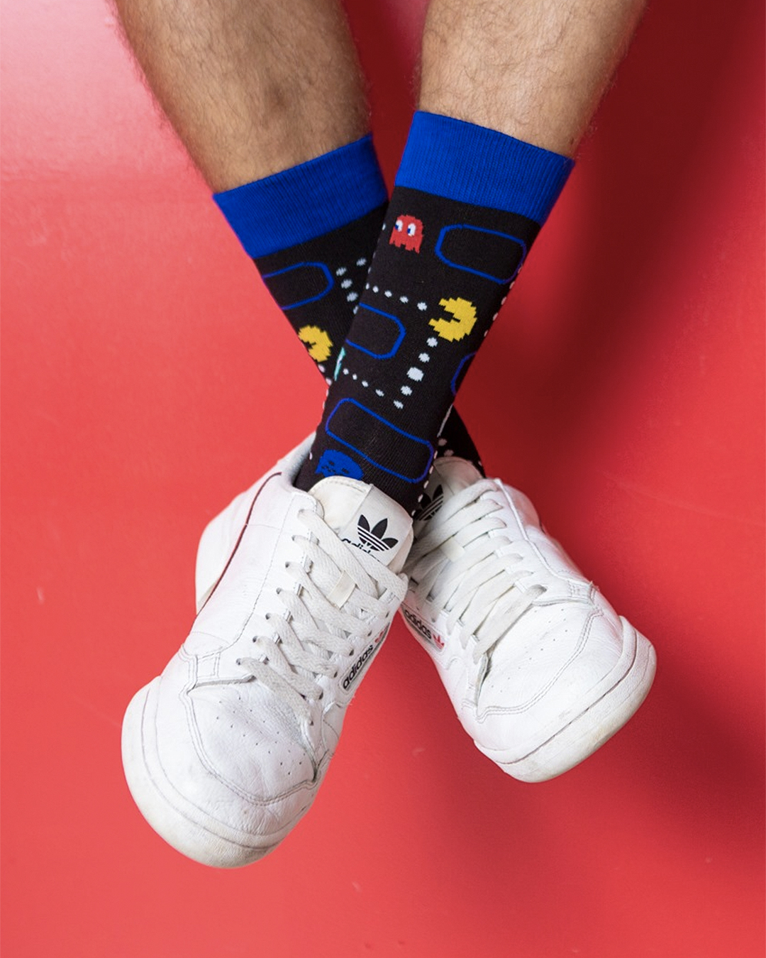 Cool pac man socks from Bamboozld.