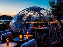 Winter Is Here And You Can Order A Cauldron Of Mulled Wine In A Rooftop Igloo