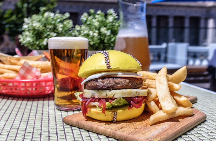 Melbourne, Your Aus Open Themed Burger Has Finally Arrived