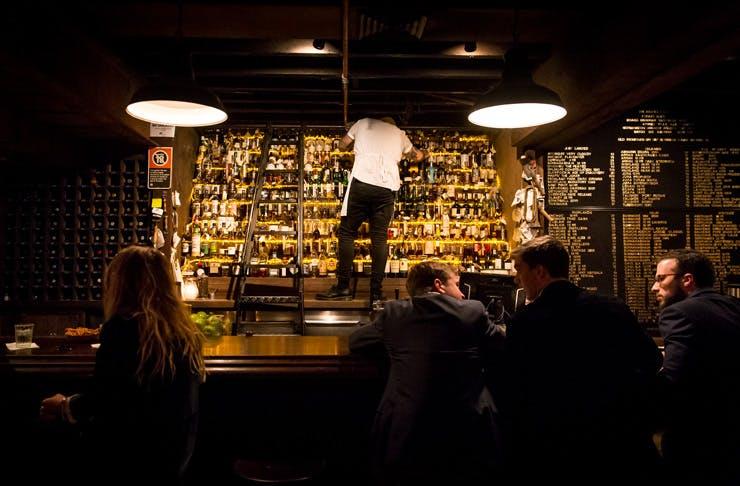 Baxter Inn Sydney bar