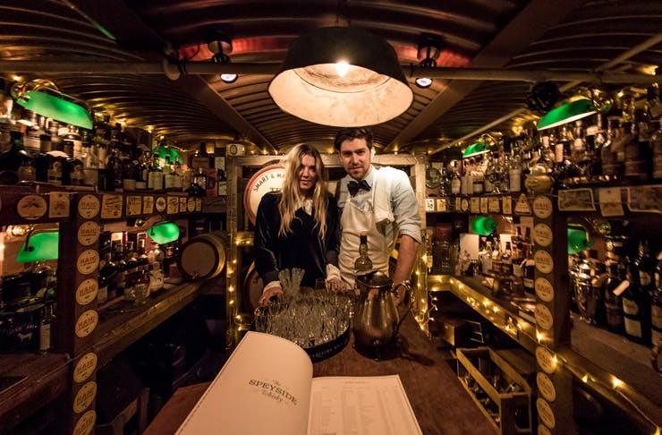 Baxter Inn Sydney bar Dan Cramsie