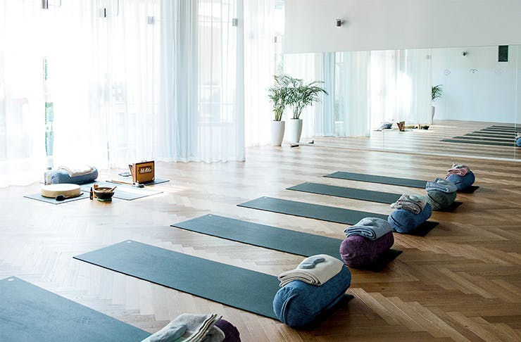 beautiful yoga studios perth