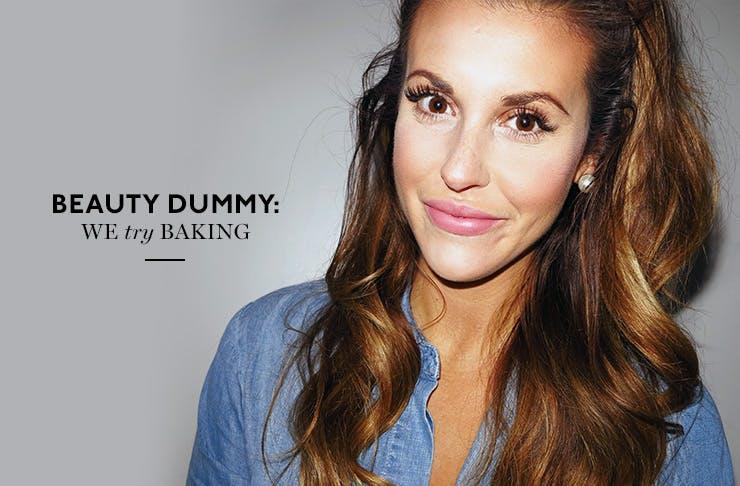 Beauty trend baking roadtest