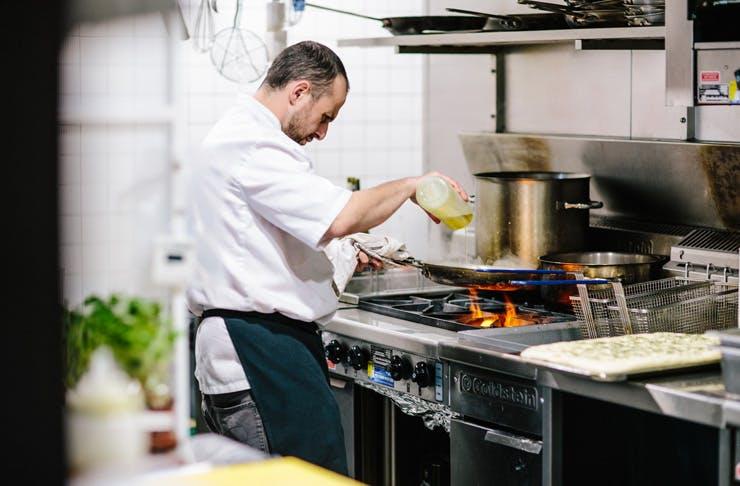beccafico italian restaurant in waterloo