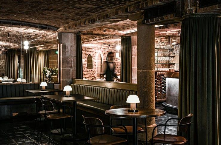 The dining room at Beckett's Glebe.
