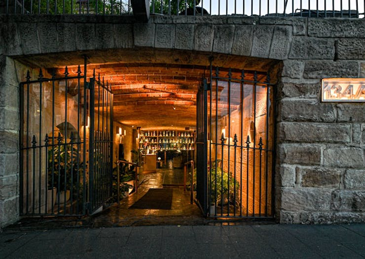 The gate and entryway at Beckett's Glebe.