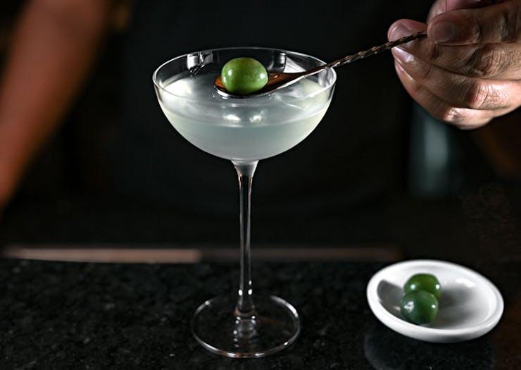 A martini from Beckett's Glebe.