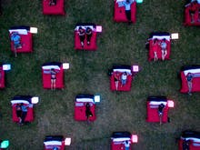 An Outdoor Bed Cinema Is Popping Up In Perth Next Week