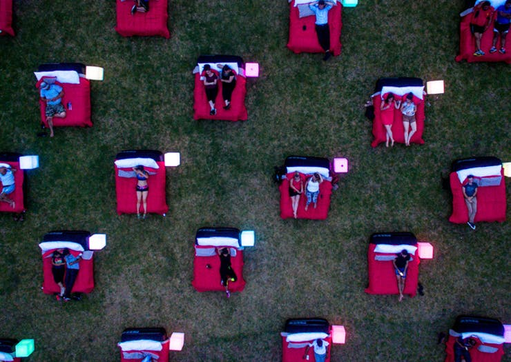 Australia's Outdoor Bed Cinema Is Going On Its First National Tour