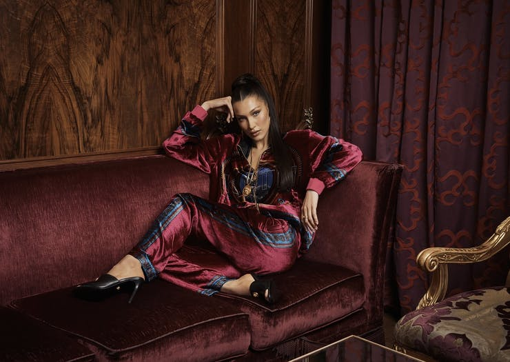 Kith Versace Collaboration Bella Hadid   Urban List
