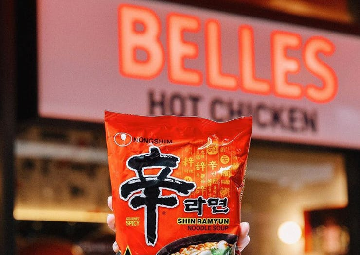 Slurp Your Way Through Belles' (Very) Limited Edition Collab With Shin Ramyun Instant Noodles