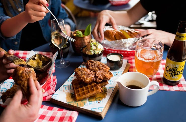 There's A Bar In Melbourne Doing Sunday Fried Chicken Brunch