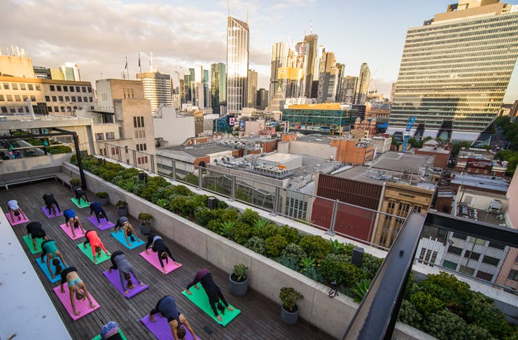 Yoga In The Sky Is Coming To Melbourne
