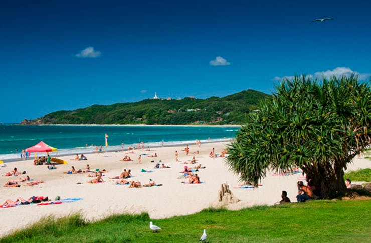 beach towns near Brisbane