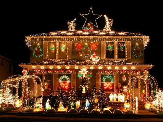 Christmas House Decoration.The Best Places To See Christmas Lights In Auckland Urban