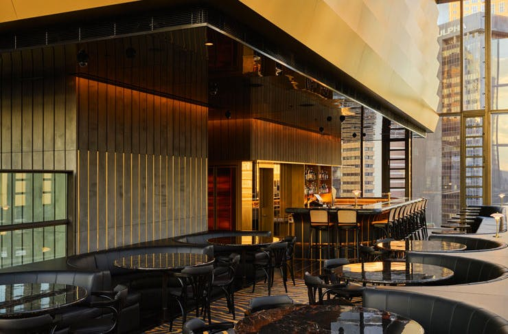 The main bar at Dean and Nancy in Sydney