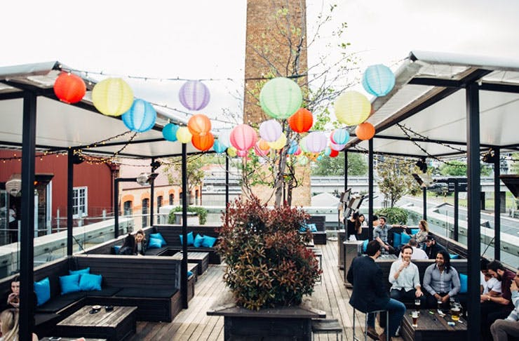 Auckland's Best Outdoor Drinking Spot
