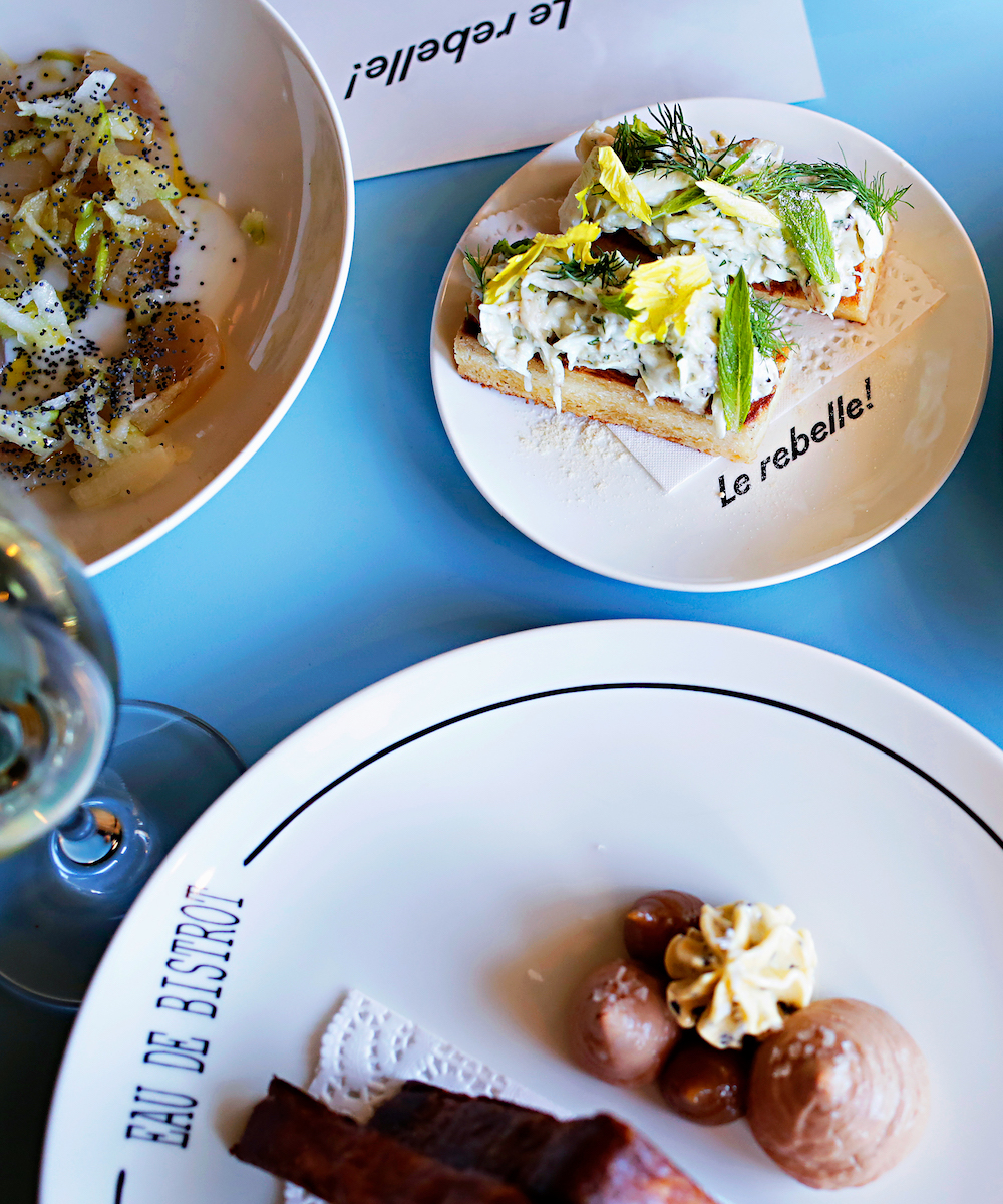 a few plates from Le Rebelle in Mount Lawley