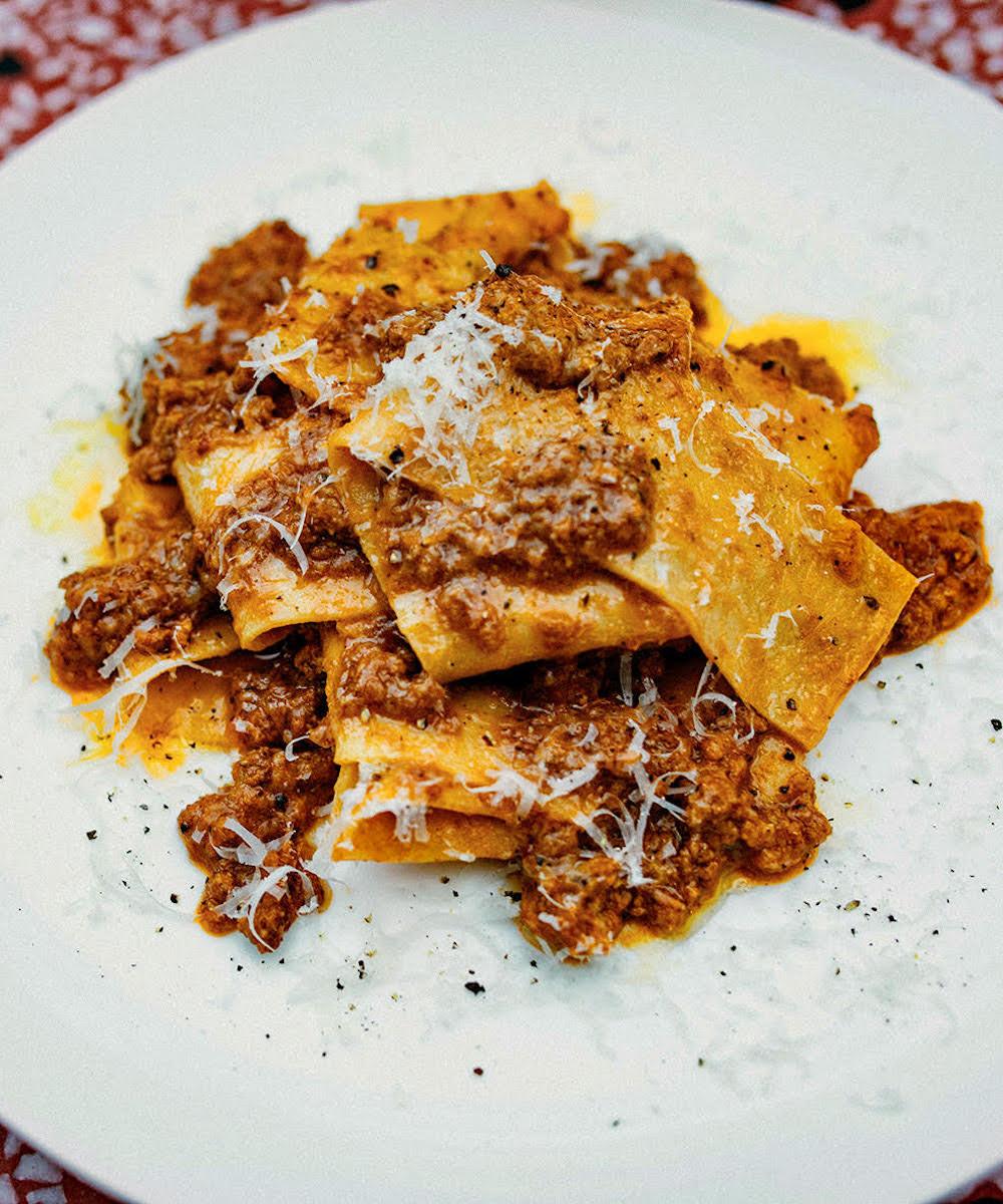 pasta dish from Si Paradiso