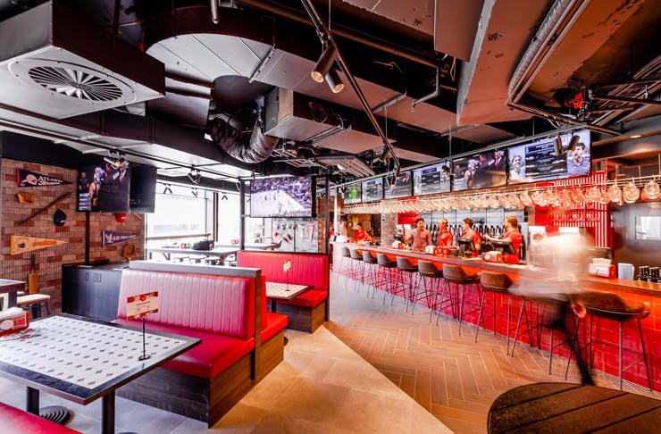 best sports bars sydney
