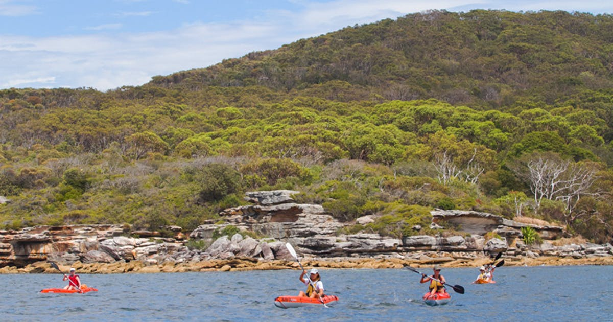 The Best Places To Go Kayaking In Sydney Sydney Urban List