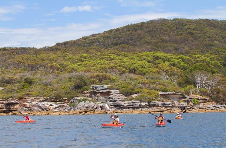 best kayaking Sydney