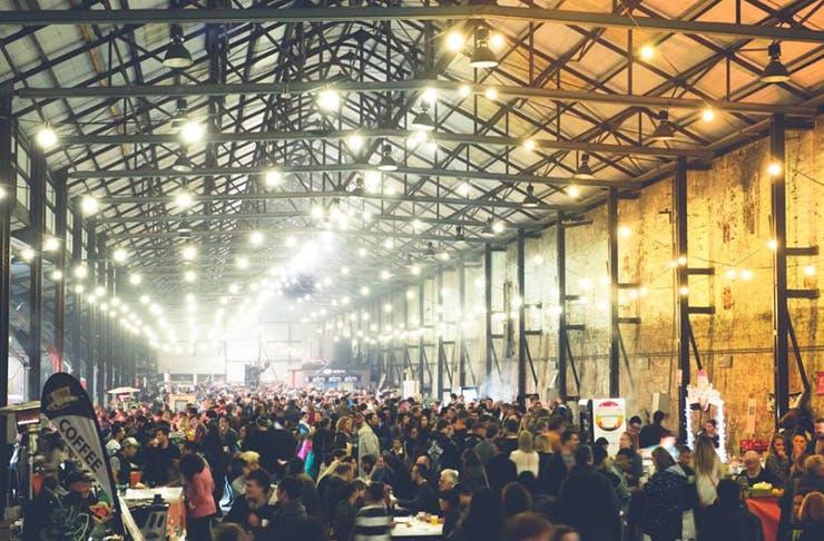 carriageworks night market