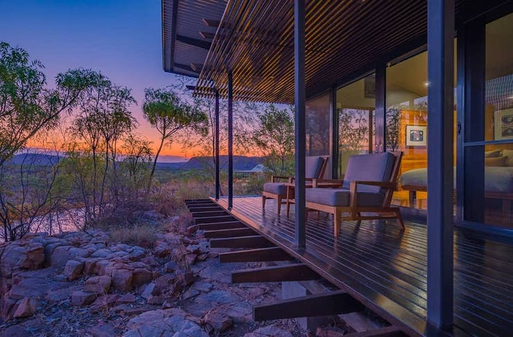 view from a room at El Questro, one of WA's best resorts