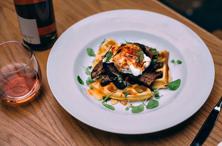 Sydney's best waffles