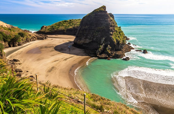 best camping in auckland, camping near auckland, piha campground, goat island campground, takapuna campground