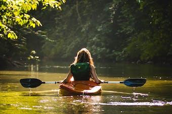 best kayaking sunshine coast