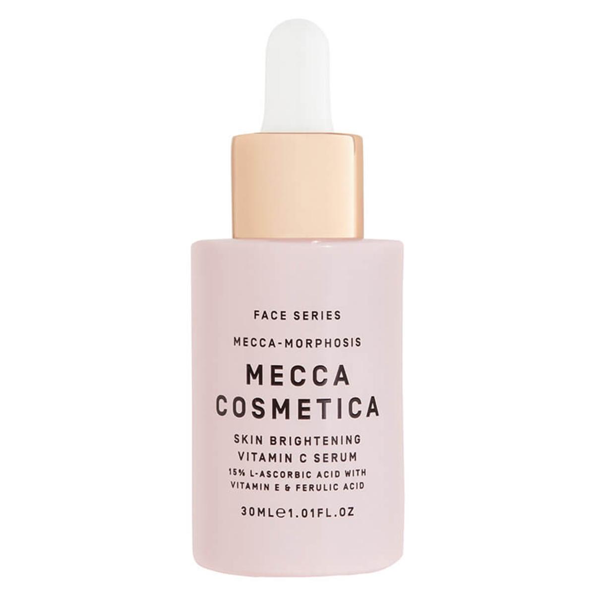 a bottle of mecca serum