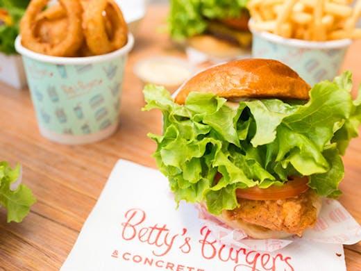 Betty's burgers chermside
