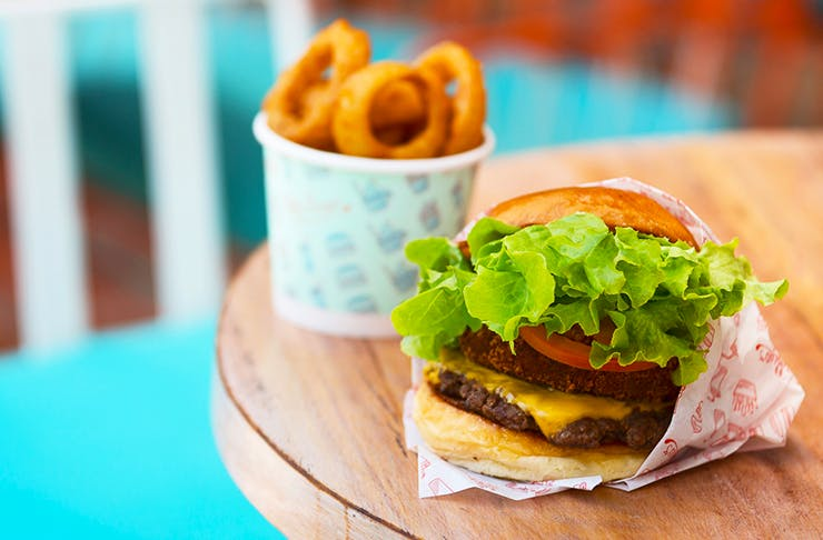Betty's burgers Surfers Paradise