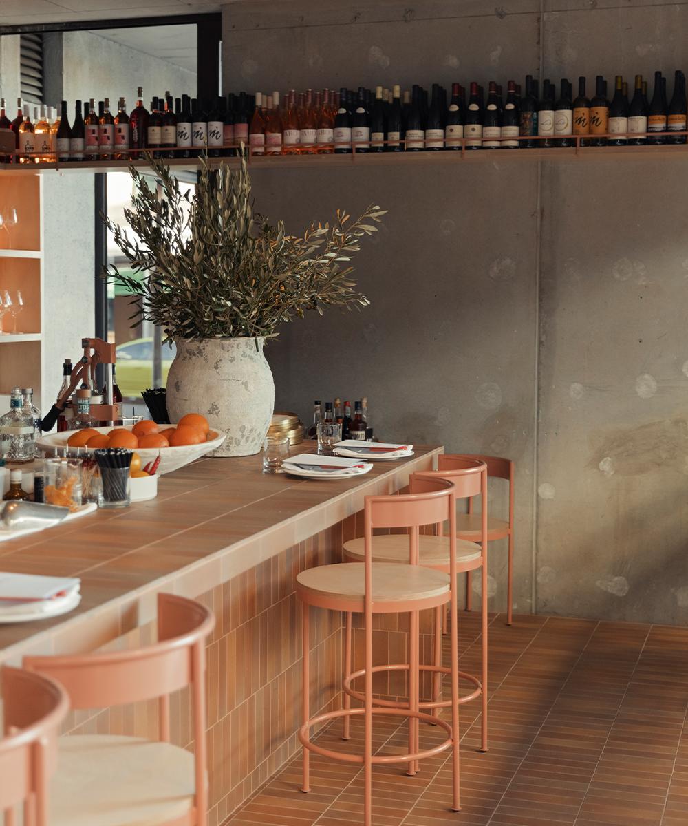 the bianca bar area