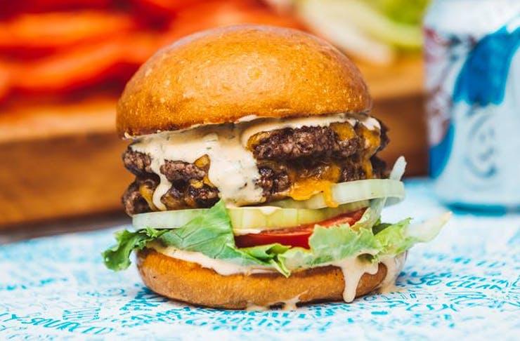 Big Beautiful Burger Food Truck