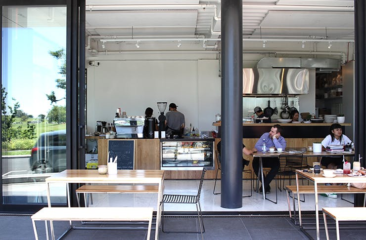 Billy's Cafe Domain Auckland