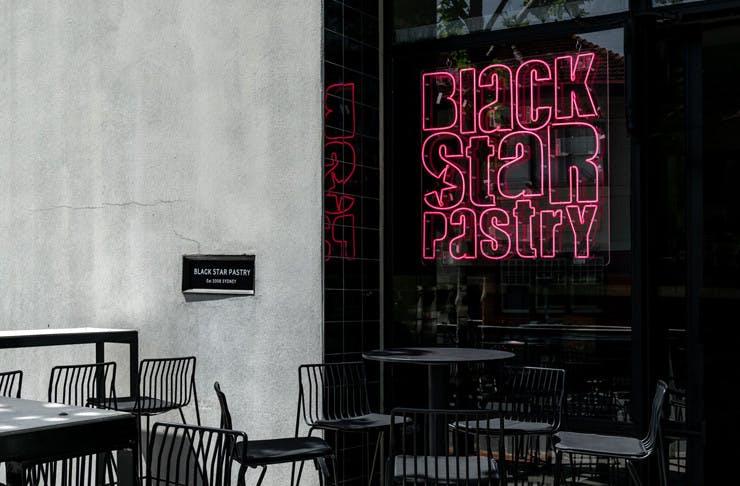 black star pastry st kilda pop up