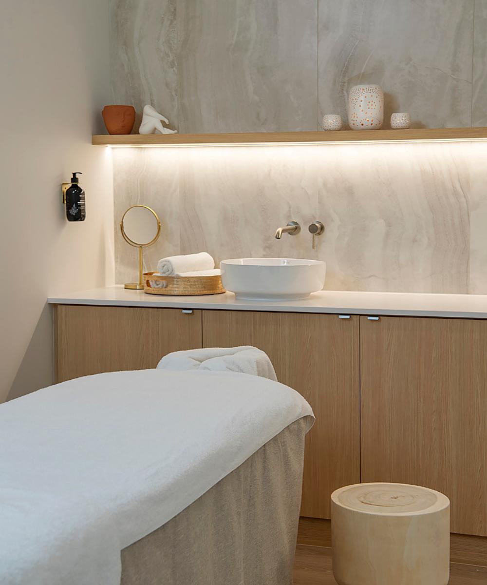 treatment room at Bodhi J Cottesloe