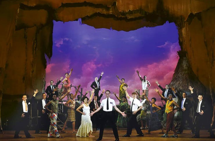 the book of mormon sydney