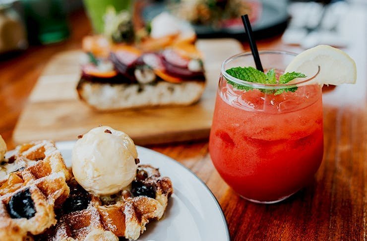 Miss Moneypenny's Bottomless brunch