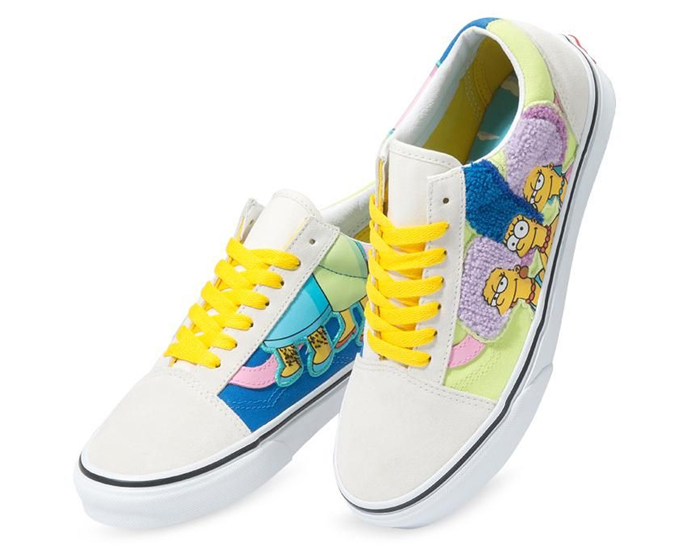 The Bouvier Sisters feature on these Vans Old Skool type of trainers.