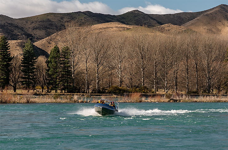 Braided River Jetboat
