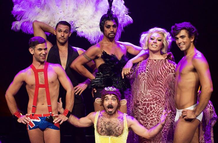 briefs show, burlesque, briefs review auckland, briefs tickets auckland, asb theatre auckland