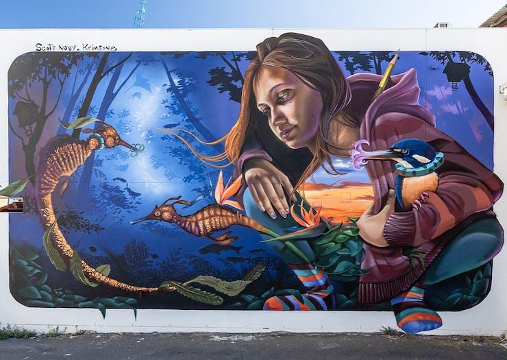 The 2021 Brisbane Street Art Festival Is Bringing 40 Epic New Murals To Brisbane