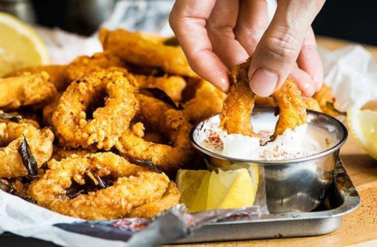 Brisbanes best calamari