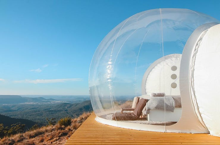 Bubble Tents Are A Thing And They're All Kinds Of Magical