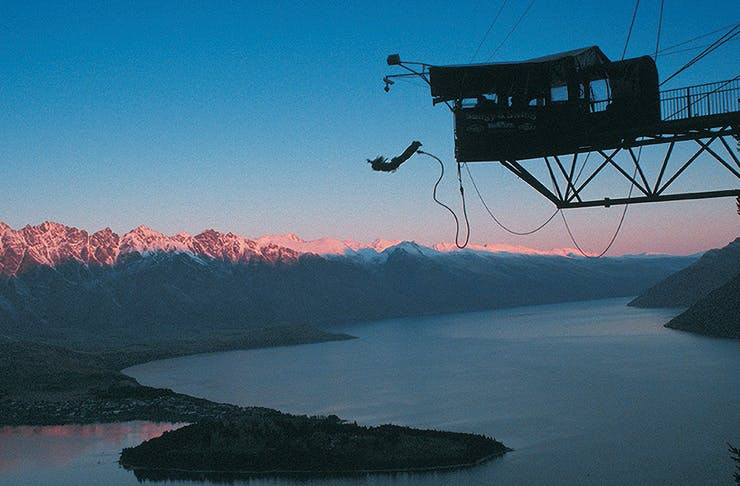 Bungy, things to do at night in Queenstown