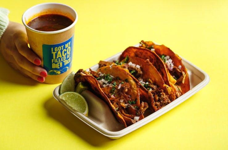birria taco