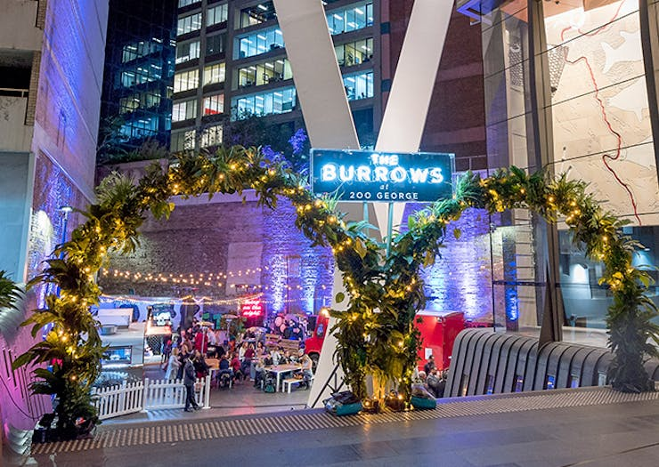 Twilight Dining at The Burrows, Sydney food truck pop-up